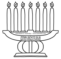 Kwanzaa Coloring Pages | Free download on ClipArtMag