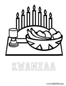 Kwanzaa Coloring Pages   Free download on ClipArtMag