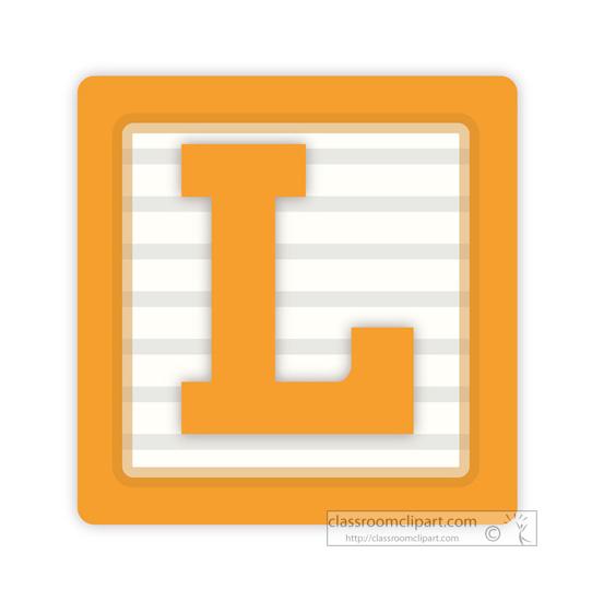 542x550 Letter L Clipart
