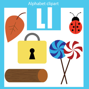 350x350 Alphabet Clip Art Letter L Beginning Sounds By Thinkingcaterpillars