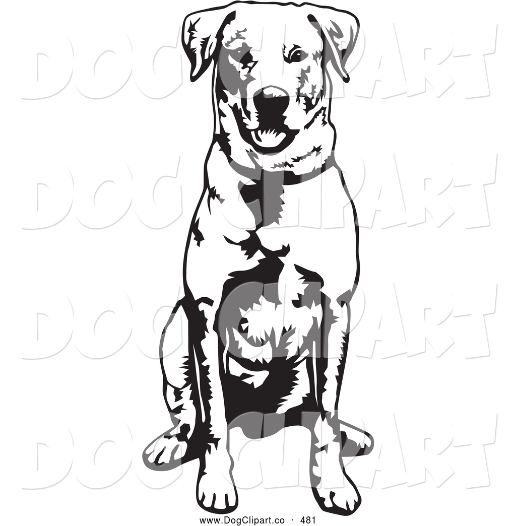 1024x1044 Vector Clip Art Of A Cheerful And Obedient Labrador Retriever Dog