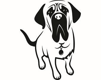 340x270 English Mastiff Clipart Amp English Mastiff Clip Art Images