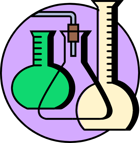 588x600 Free Science Lab Clipart Image