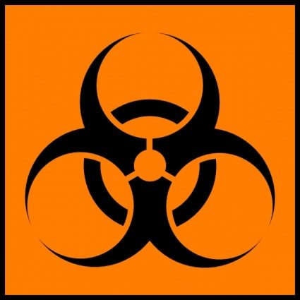 425x425 Laboratory Safety Signs Symbols Clipart
