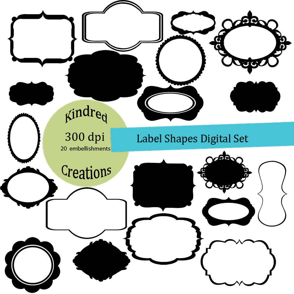 Label Shapes Cliparts | Free download best Label Shapes Cliparts on ...