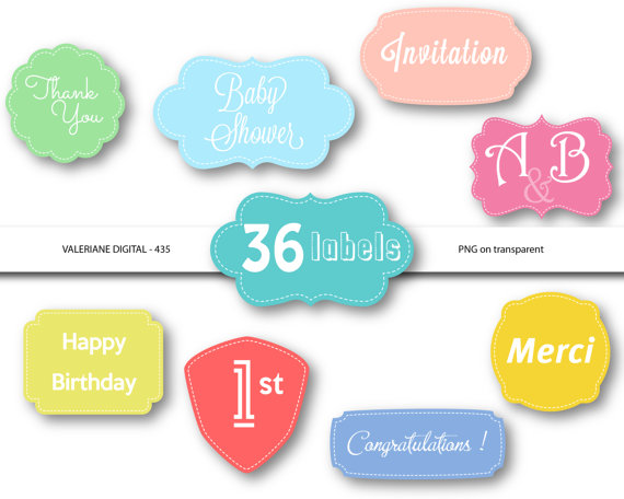 570x456 36 Digital Frames Or Labels Clip Art Stitched Frames Digital