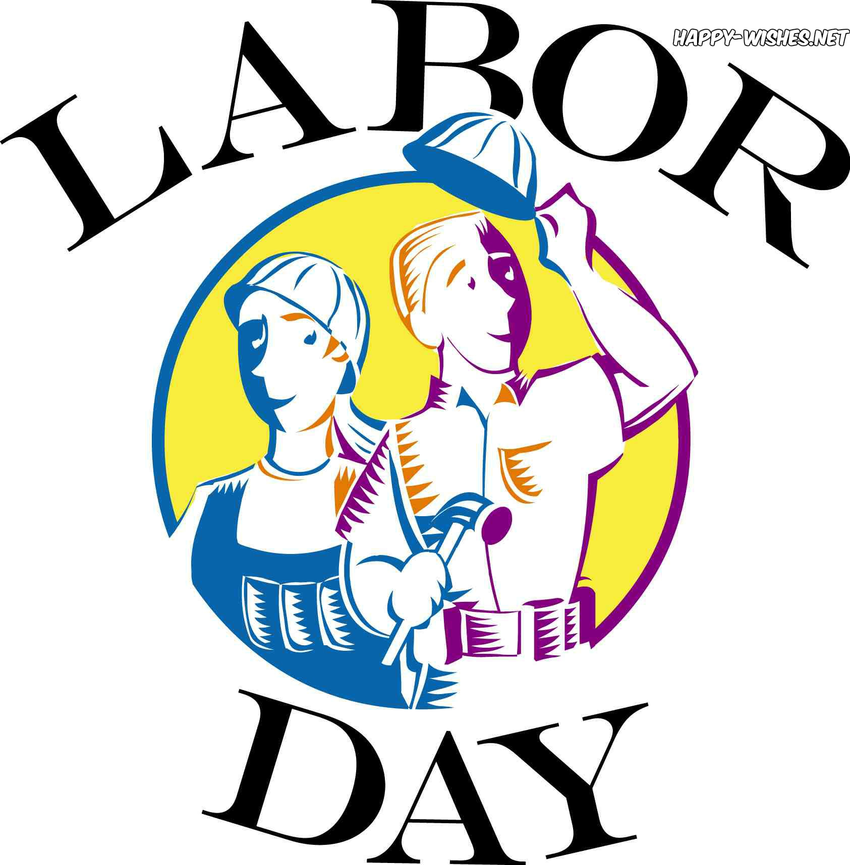 1685x1716 Happy Labor Day 2018 Clip Art