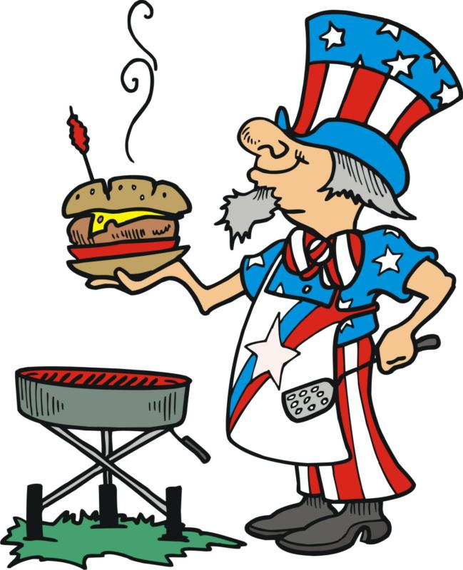 649x800 Barbecue Clipart Labor Day