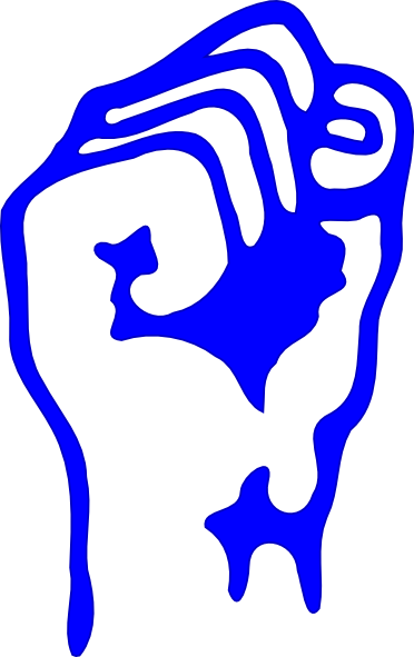 372x591 Solidarity Fist Clip Art