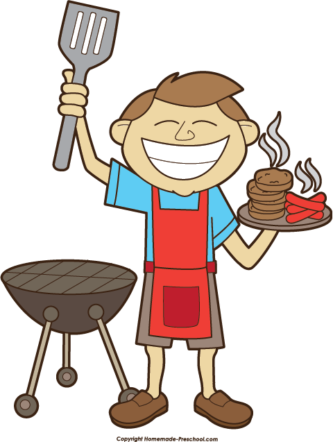 333x442 Barbecue Clipart Labor Day