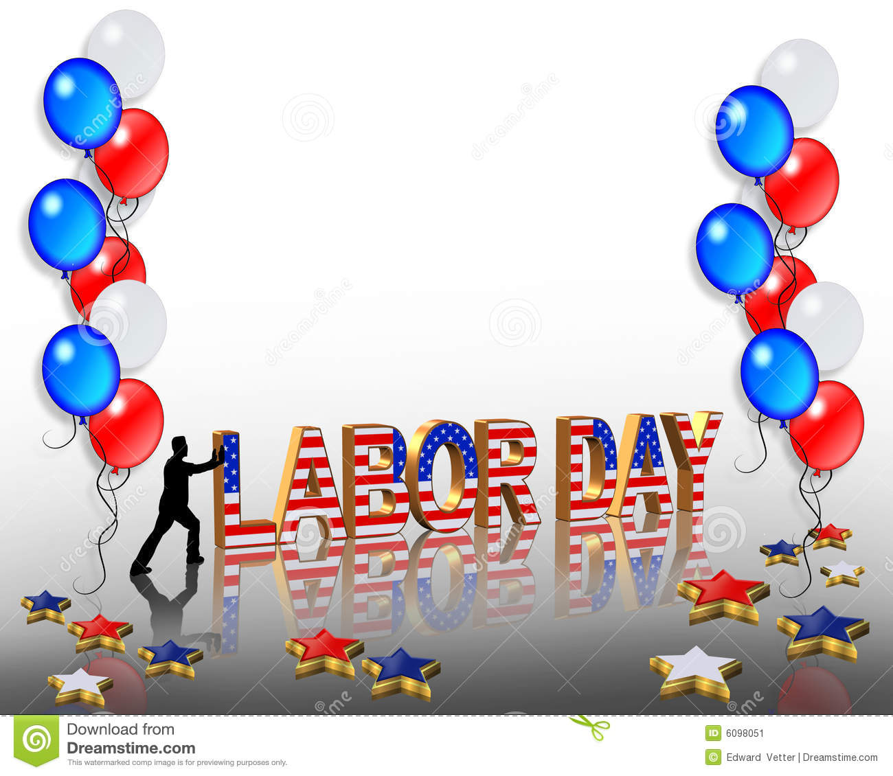 1300x1130 Labor Day Borders Clipart