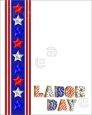 360x450 Labor Day Clipart Border 2014, Labor Day Clip Art Border 2014