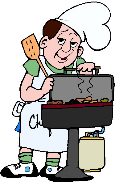 373x589 Barbecue Clipart Labor Day