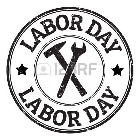 450x450 free black and white clipart labor day