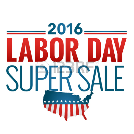450x450 Labor Day Super Sale Sign Call To Action Royalty Free Cliparts