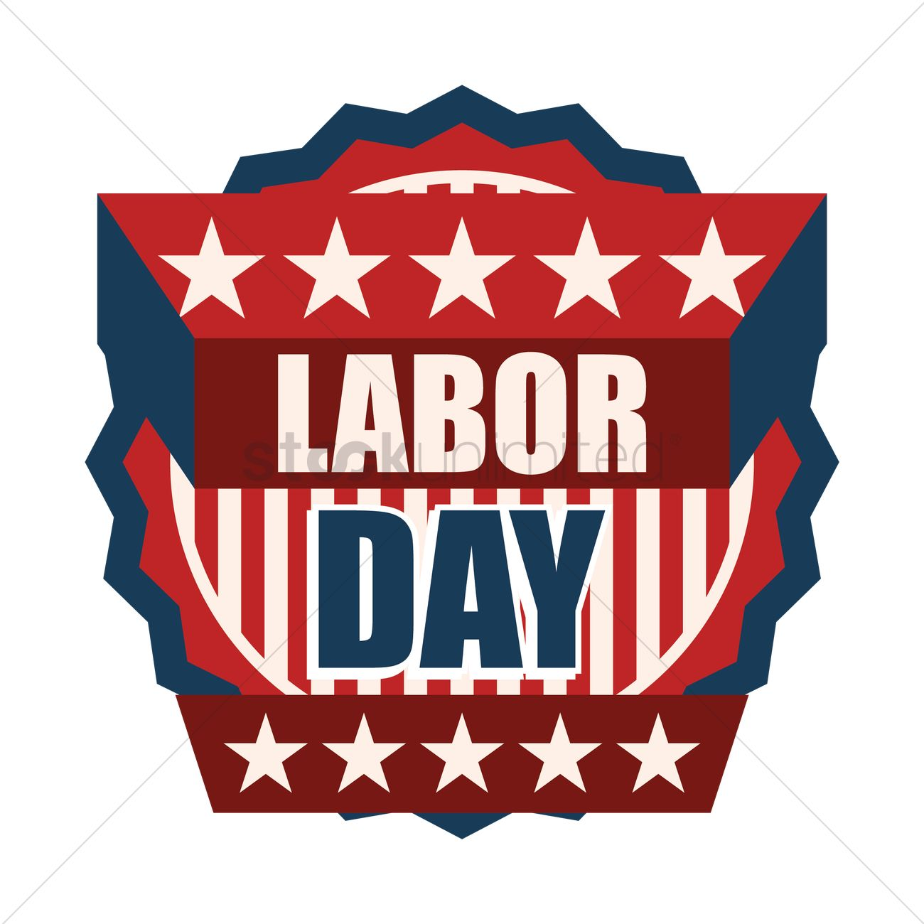 1300x1300 Us Labor Day Label Vector Image