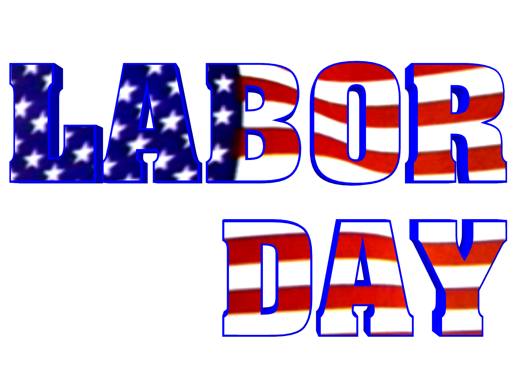 1664x1212 September Labor Day Calendar Clipart