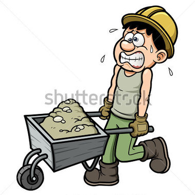 380x380 Manual Labor Clipart