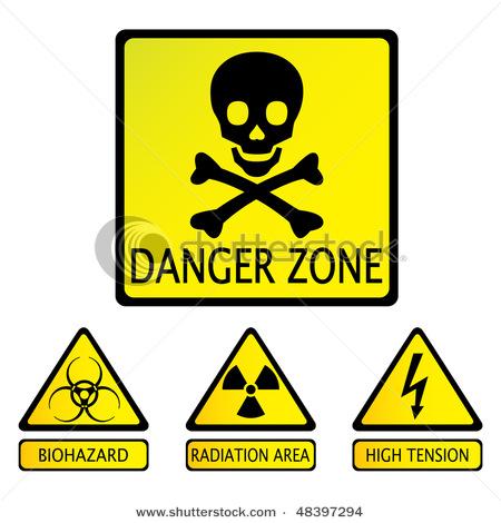450x470 Clipart Of Biohazard Laboratories Signs