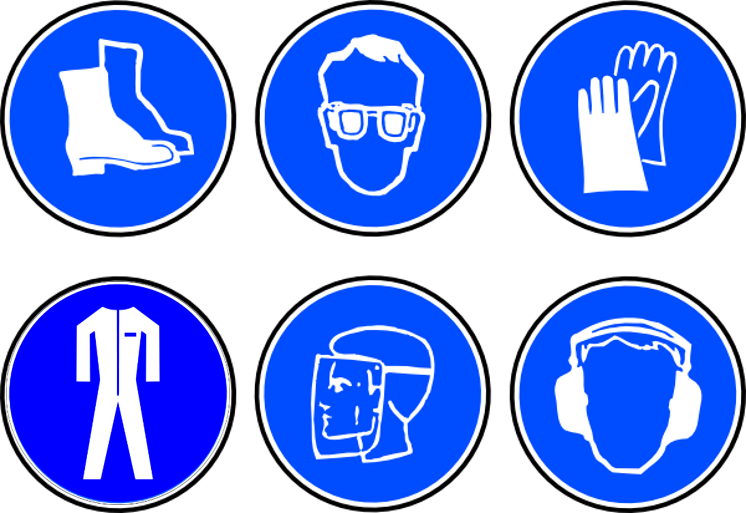 Vector Clipart Safety Signs Free All About Clipart