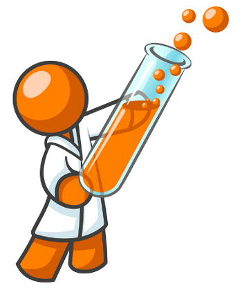 350x416 Science Experiment Clipart