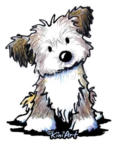 415x511 Havanese Dog Ladies Tshirts Or Nightshirt 7674 Kiniart Pet Art