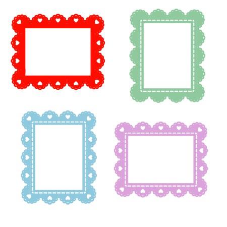 450x450 Lace Borders Clip Art