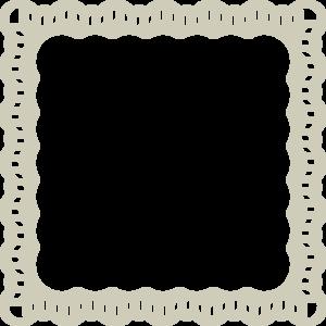 300x300 Lace Frame Clip Art