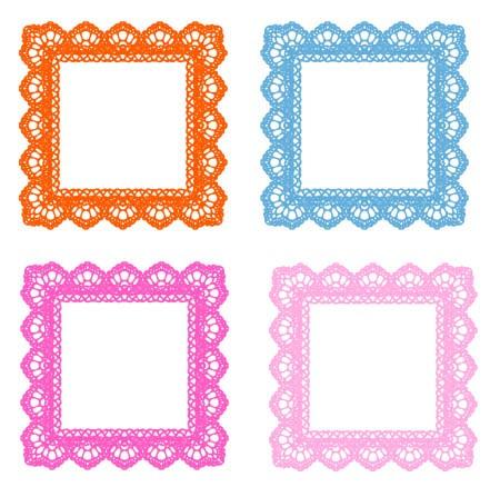 450x447 Lace Frame Clip Art 101 Clip Art