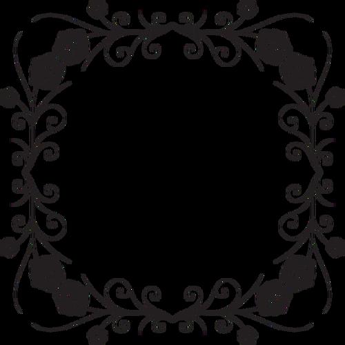 500x500 Flowery Lace Design Public Domain Vectors