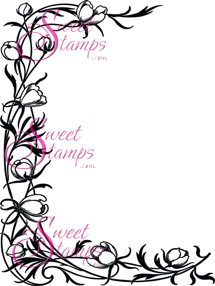 713x951 Vintage Lace Corner Clipart Cliparthut