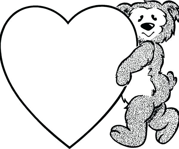 600x500 Clipart Heart Heart Border Black And White For Heart Border Black