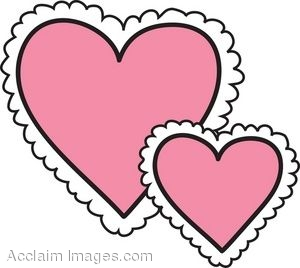 Lace heart. Clipart free download best