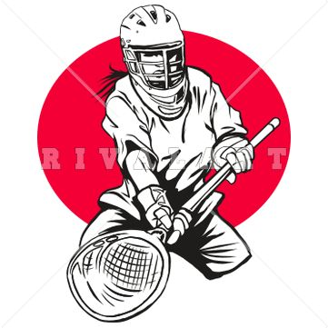 Lacrosse Cartoon