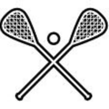 350x350 Lacrosse Stick Clipart