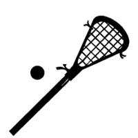 200x200 Lacrosse Sticks Clipart