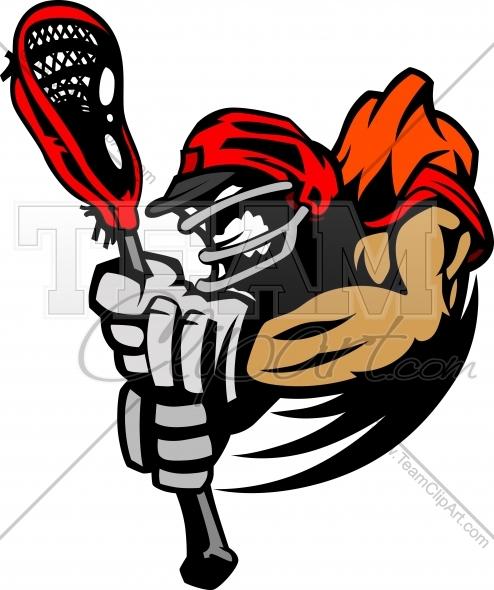 494x590 Lacrosse Clip Art