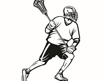 340x270 Lacrosse Logo 2 Sticks Crossed Equipment Field Sports Game