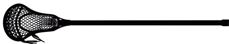 728x143 Lacrosse Sticks Clipart
