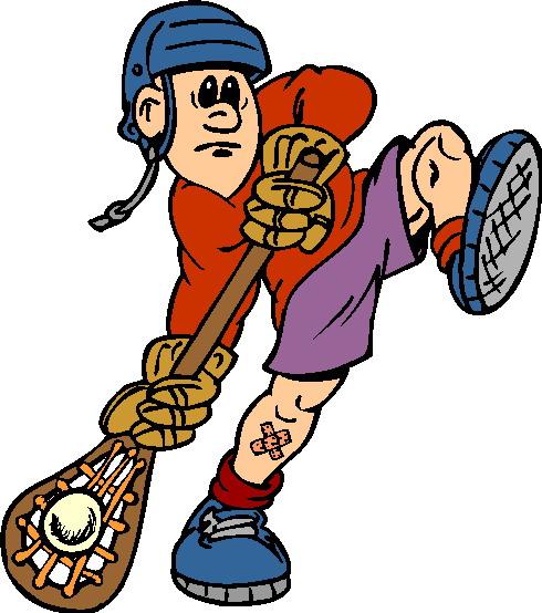 490x554 Lacrosse clip art