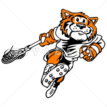 361x361 Mascot Clipart Image Of A Tiger Lacrosse Player Httpwww