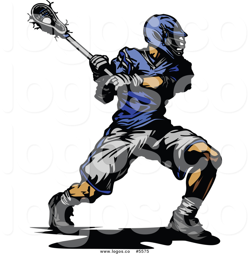 1024x1044 Royalty Free Vector Of A Swinging Lacrosse Player Logo By Chromaco
