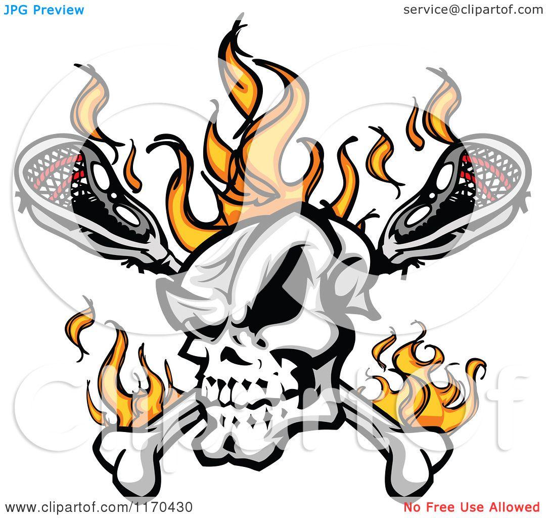 1080x1024 Skull Clipart Lacrosse
