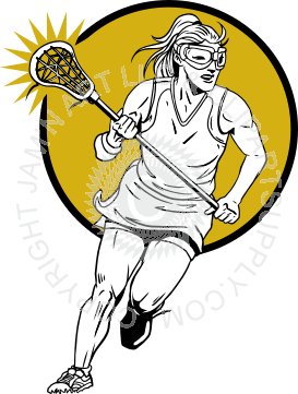 273x361 Girl Clipart Lacrosse Player