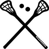 168x170 Lacrosse Sticks Clip Art