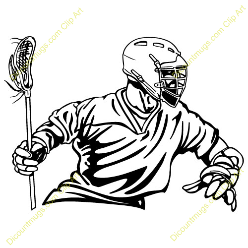 500x500 Lacrosse Clipart Free