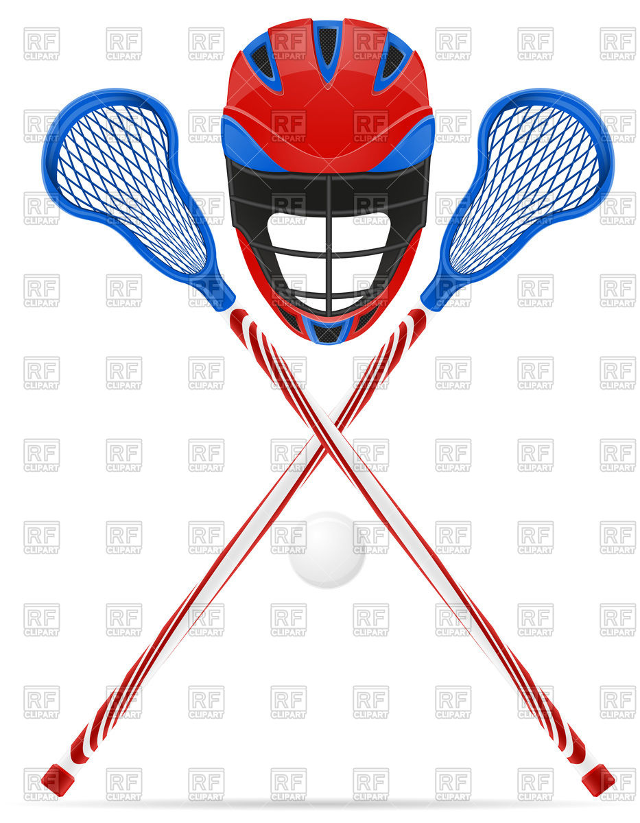933x1200 Lacrosse Equipment Royalty Free Vector Clip Art Image