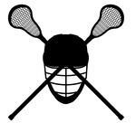 150x136 Lacrosse Sticks Royalty Free Vector Clip Art Image