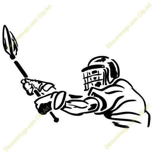 500x500 Clipart Lacrosse