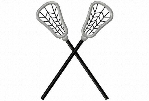 570x387 Lacrosse Sticks Applique Machine Embroidery By Lillipadgifts